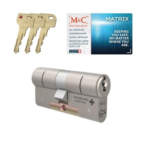M&C matrix sleutel bestellen